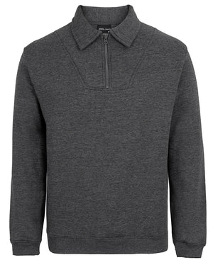 JB's  Adults Half Zip Fleecy Sweat (3FSZ)