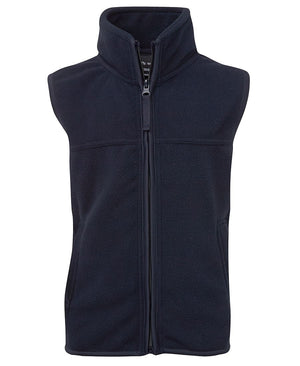 JB's Wear-JB's Kids Polar Vest-Navy / 4-Uniform Wholesalers - 2