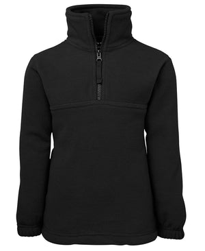 JB's Wear-JB's Kids 1/2 Zip Polar-Black / 4-Uniform Wholesalers - 2
