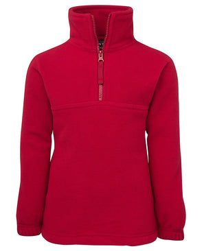 JB's Wear-JB's Kids 1/2 Zip Polar-Red / 4-Uniform Wholesalers - 3