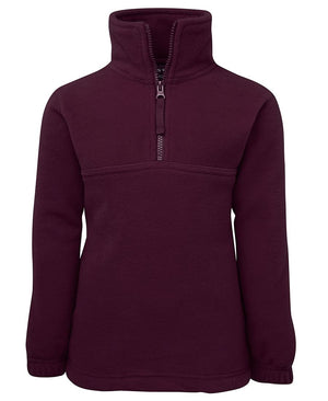 JB's Wear-JB's Kids 1/2 Zip Polar-Maroon / 4-Uniform Wholesalers - 5