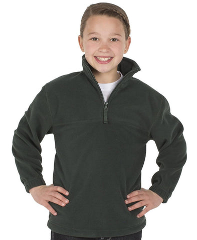 JB's Wear-JB's Kids 1/2 Zip Polar--Uniform Wholesalers - 1