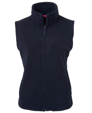 JB's Wear-JB's Ladies Polar Vest-8 / Navy-Uniform Wholesalers - 4