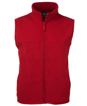 JB's Wear-JB's Adults Polar Vest-Red / S-Uniform Wholesalers - 6