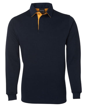 JB's Wear-JB's Adults 2 Tone Rugby-Navy/Gold / S-Uniform Wholesalers - 6