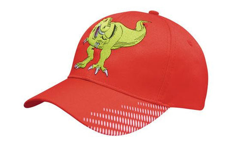 Headwear-Headwear Breathable Poly Twill with Peak Flash Print--Uniform Wholesalers - 1