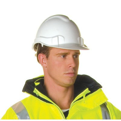 DNC Workwear-DNC Vented Hard Hat-White / 0-Uniform Wholesalers - 1
