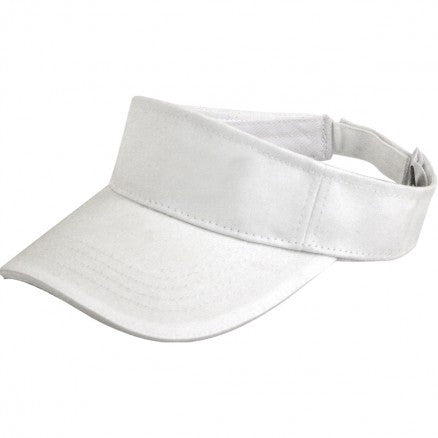 legend Life-Legend Life Cotton Visor Sandwich Peak-White/White-Uniform Wholesalers - 2