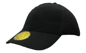Headwear-Headwear  Sandwich Mesh with Dream Fit Styling Cap-Black / Free Size-Uniform Wholesalers - 2