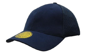 Headwear-Headwear  Sandwich Mesh with Dream Fit Styling Cap-Navy / Free Size-Uniform Wholesalers - 3