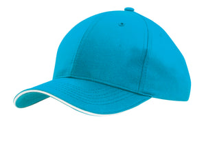 Headwear Sports Ripstop Cap with Sandwich Trim (4149)