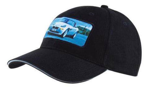 Headwear-Headwear Brushed Heavy Cotton with Reflective Sandwich & Strap--Uniform Wholesalers