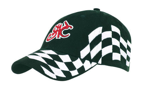 Headwear-Headwear Brushed Heavy Cotton with Checks Cap--Uniform Wholesalers