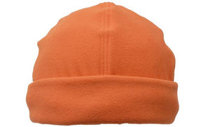 Headwear-Headwear Mirco Fleece Beanie - Toque Cap-Orange / Free Size-Uniform Wholesalers - 6