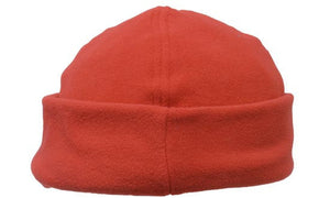 Headwear-Headwear Mirco Fleece Beanie - Toque Cap-Red / Free Size-Uniform Wholesalers - 7