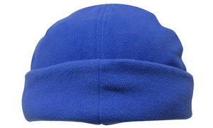 Headwear-Headwear Mirco Fleece Beanie - Toque Cap-Royal / Free Size-Uniform Wholesalers - 8