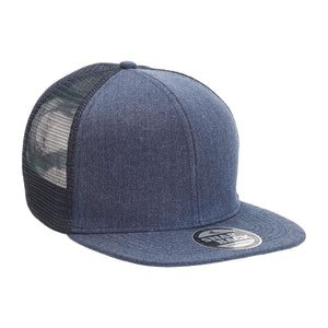 Legend Life Heathered Flat Peak Trucker (4396)