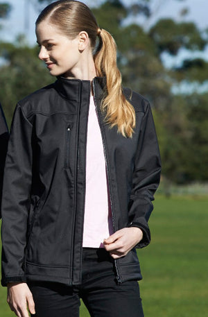 Bocini-Bocini  Ladies New Style Soft Shell Jacket--Uniform Wholesalers - 1