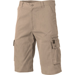 DNC Workwear-DNC Island Duck Weave Cargo Shorts--Uniform Wholesalers - 3