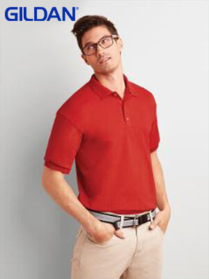Gildan  Adult Ultra Cotton Jersey Polo-(2800)