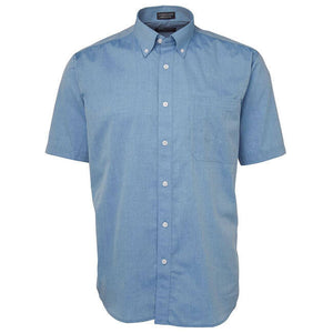 Jb's Short Sleeve Fine Chambray Shirt - Adults (4FCSS)