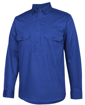 JB's C Of C Longreach L/S Closefront Shirt (4LLC)