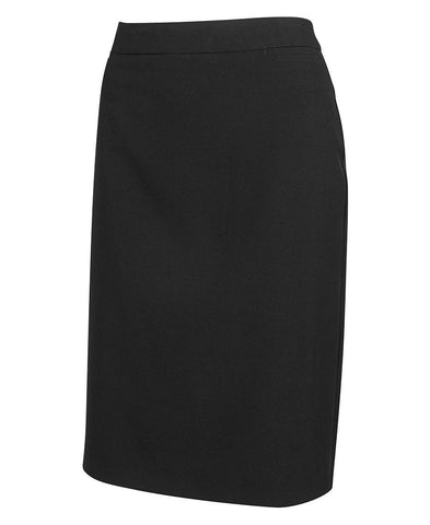 JB's Wear-JB's Ladies Mech Stretch Long Skirt-Black / 8-Uniform Wholesalers