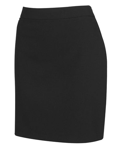 JB's Wear-JB's Ladies Mech Stretch Short Skirt-Black / 8-Uniform Wholesalers