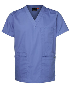JB's Wear-JB's Unisex Scrubs Top-Lt Blue / XS-Uniform Wholesalers - 2