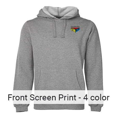 Front Pocket Size- 4 Colour Print