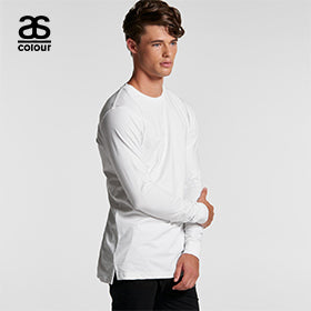 Ascolour Mens Base Organic L/S Tee - (5029G)