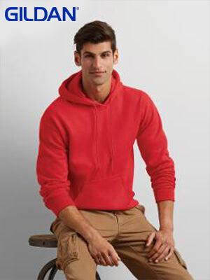 Gildan  Adult Hooded Sweatshirt-(18500)