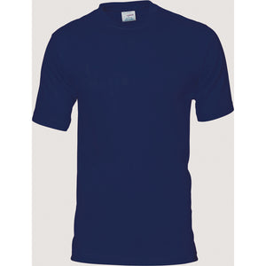 DNC Workwear-DNC Adult 190gsm Combed Cotton Jersey Tee-Navy / S-Uniform Wholesalers - 3
