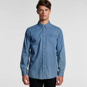 Ascolour Blue Denim Shirt - (5409)