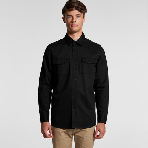 Ascolour Mens Military Shirt- 5412