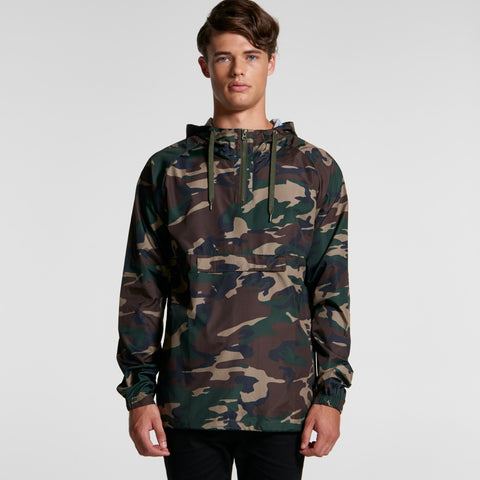 Ascolour Mens Cyrus Camo Windbreaker - 5501C