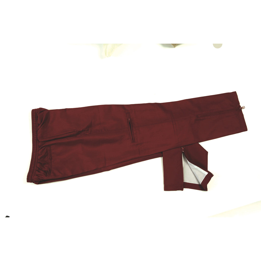 DNC Workwear-DNC Adults Ribstop Athens Track Pants-Maroon / S-Uniform Wholesalers - 4