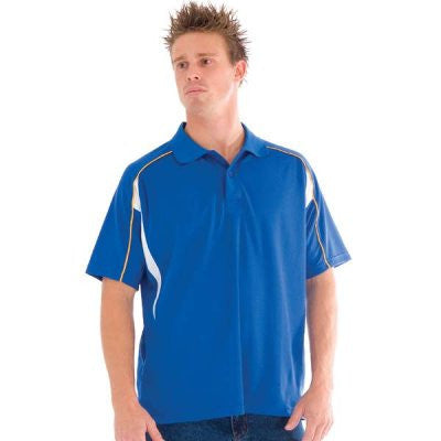 DNC Workwear-DNC Air Flow Contrast Mesh 'N' Piping Polo--Uniform Wholesalers - 2