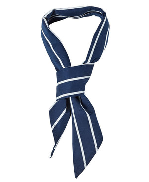JB's Wear-JB's Chef Scarf-Navy/White / One-Uniform Wholesalers - 8