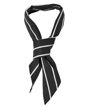 JB's Wear-JB's Chef Scarf-Black/White / One-Uniform Wholesalers - 9
