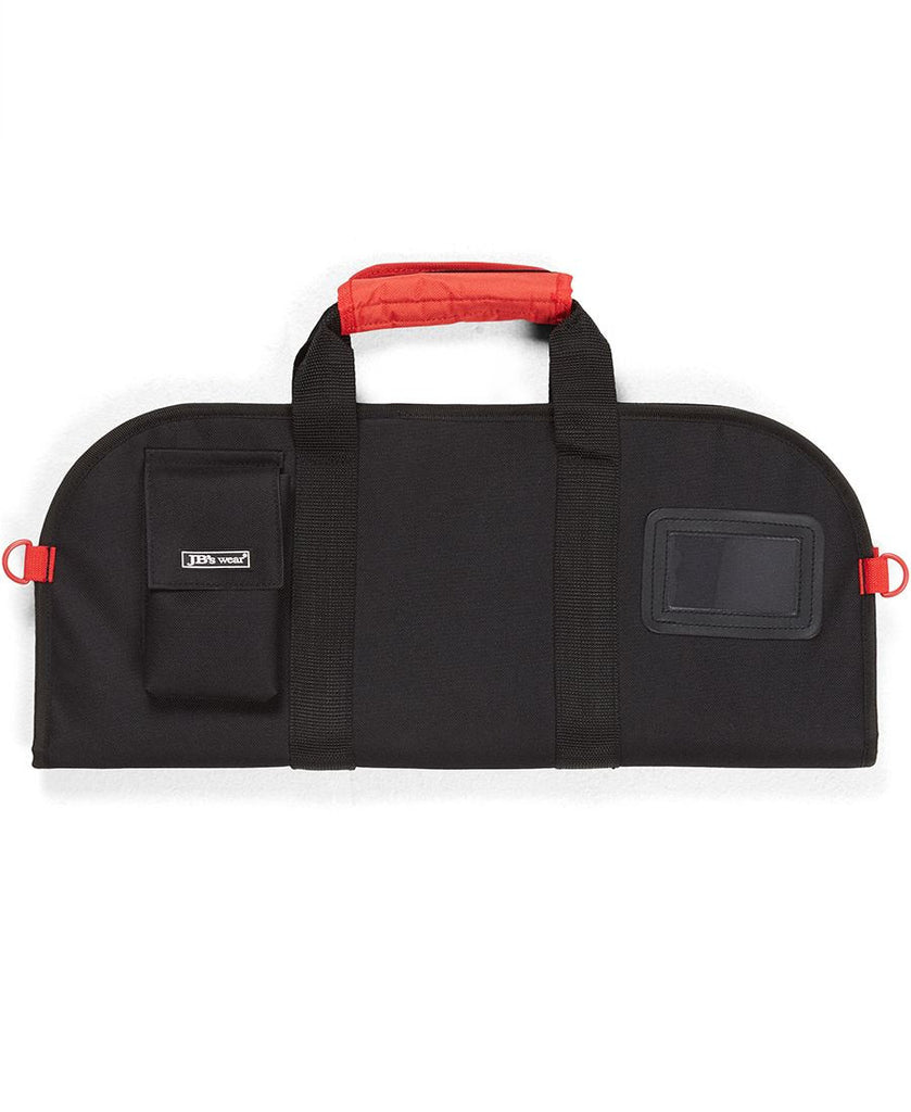 JB's Wear-Jb Chef's Small Knife Bag-BLACK/RED / S-Uniform Wholesalers - 1