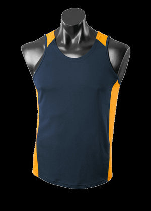 Aussie Pacific Premier Kids Singlet 2nd (8 Colour) (3101)