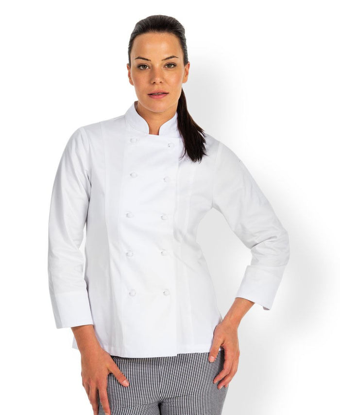 JB's Ladies L/S Chef's Jacket (5CJ1)