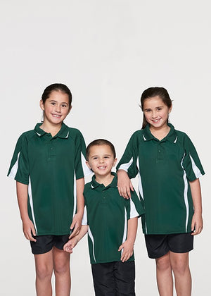 Aussie Pacific Eureka Kids Polo 2nd  ( 10 Colour ) (3304)
