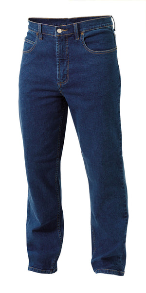 King Gee-King Gee Stretch Denim Work Jean- Denim-460gsm-Stonewash / 79L-Uniform Wholesalers