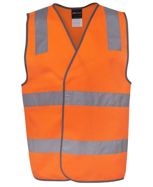 JB's Wear-JB's Hi Vis (D+N) Safety Vest - Adults-Orange / S-Uniform Wholesalers - 4