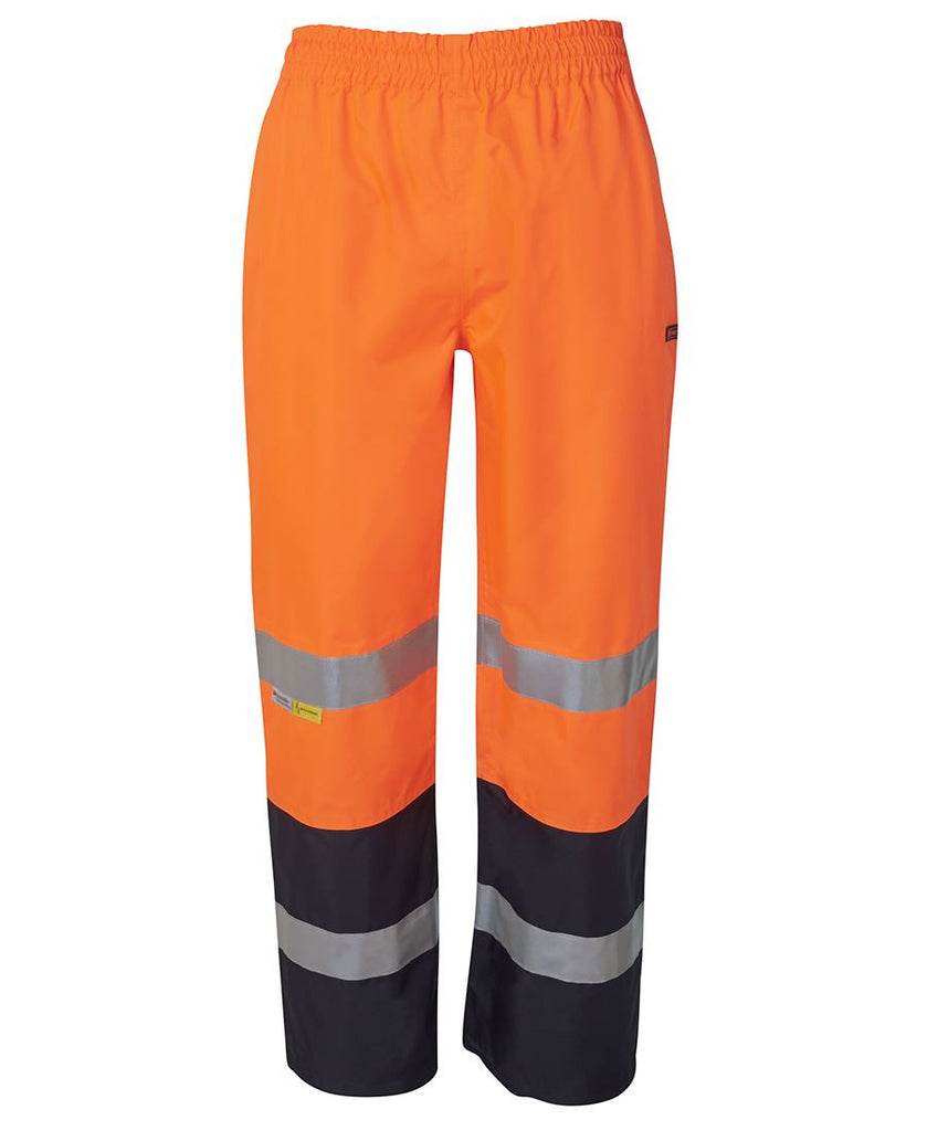 JB's Wear-JB's Hi Vis (D+N) Premium Rain Pant-ORANGE/NAVY / XS-Uniform Wholesalers - 2