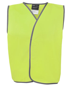 JB's Wear-Jb's Kids Hi Vis Safety Vest-Lime / 06-Apr-Uniform Wholesalers - 1
