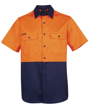 JBs Wear Hi Vis Short Sleeve 150g Shirt - Adults (6HWSS)