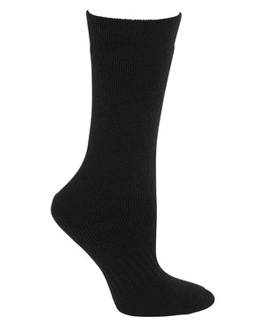 JB's Wear-JB's Acrylic Work Sock (3 Pack)-Black / King-Uniform Wholesalers - 2
